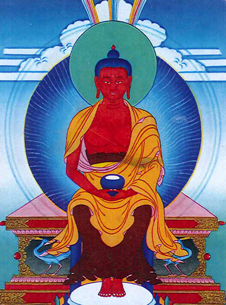 Amitabha Buddha the Lotus Family God our Father in Heaven