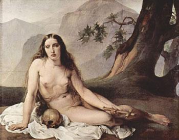 penitent Mary Magdalene Francesco Hayez