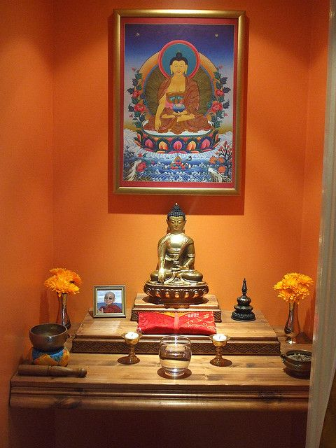 gautama buddha shrine 01