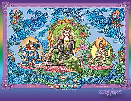 Gods Buddhas and Angels